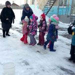 Зимний спорт в детском саду