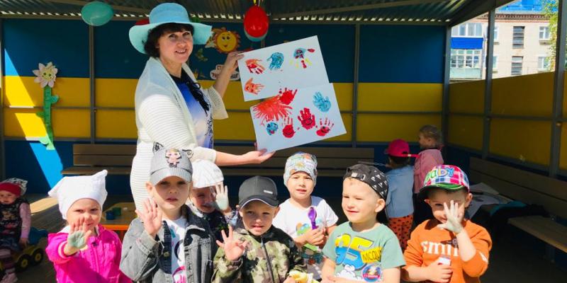 «День защиты детей» в детском саду.
